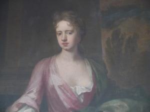 Portrait of Rebecca Hussey (courtesy of James Birch of Doddington Hall)